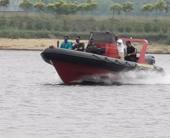 Aqualand 30feet 9m 16person Military Rib Patrol /Rigid Inflatable Speed Rescue Motor Boat with CE B Class (RIB900)