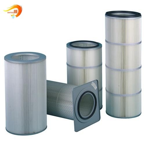 Auto Spare Part Industrial Filter Oil /Fuel/Water/Air Filter Element Metal End Caps