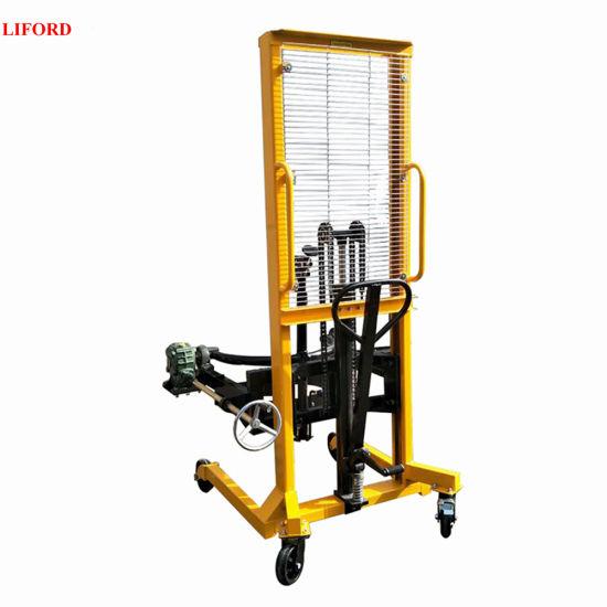 450kg 180 Degree Manual Rotation Oil Drum Lifter Da450