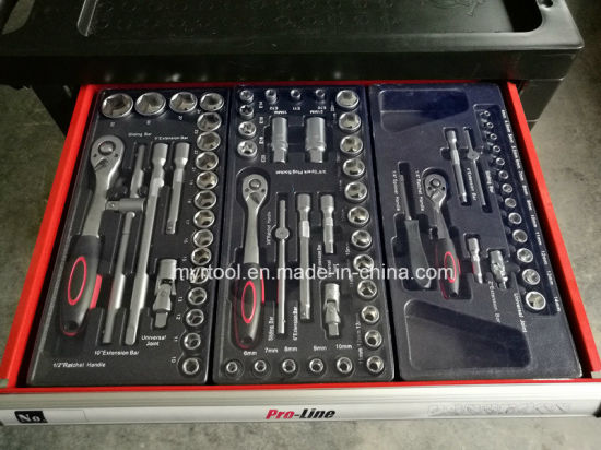 Hot Selling-7 Drawers Heavy Duty Tool Trolley Set (FY228A1) pictures & photos