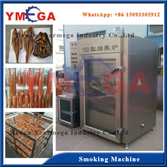 Full Automatic Electric Dried Bean Curd Meat Fish Smoking Furnace pictures & photos