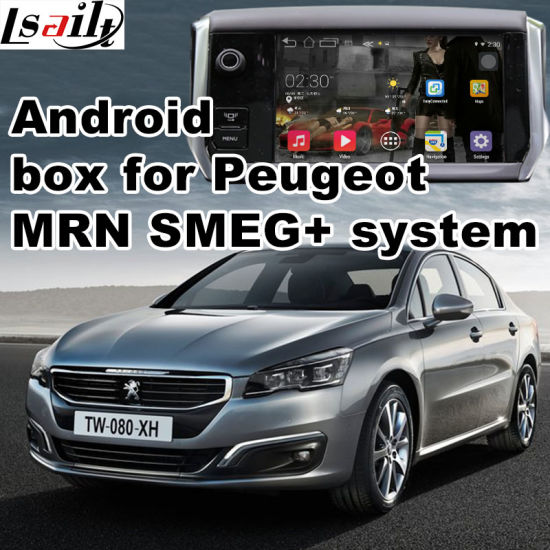 Android GPS Navigation System Box for Peugeot 208 2008 308 408 508 Mrn Smeg+ Video Interface Upgrade Touch Navigation, WiFi, Mirrorlink pictures & photos