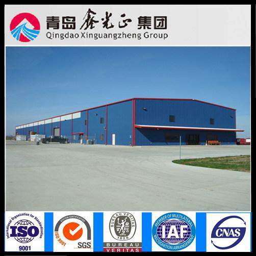 Turnkey Project Steel Structure Workshop (SSW-293)
