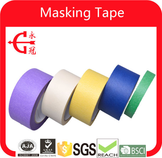 Super Strength Masking Tape Colorful Tape pictures & photos