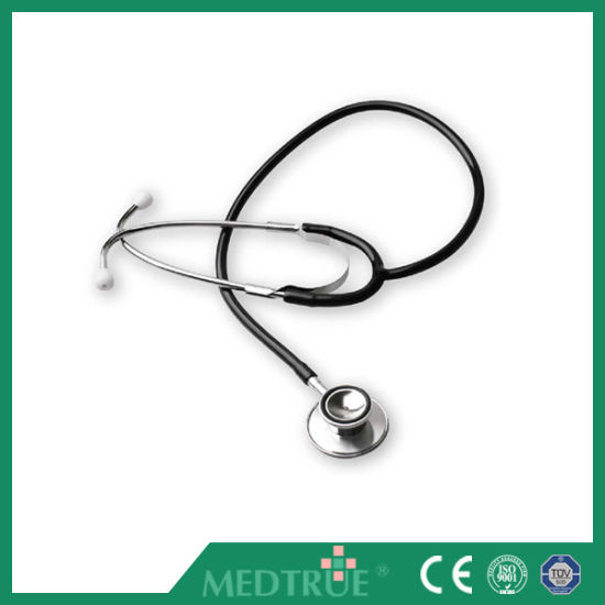 Ce/ISO Approved Medical Stethoscope Dual Head for Adult (MT01015001)