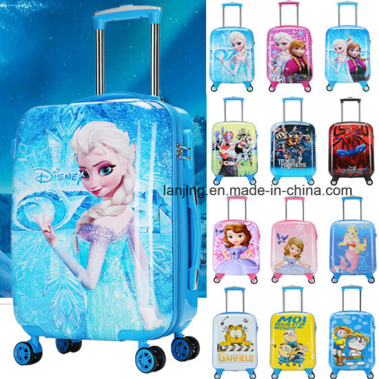 New Frozen Elsa & Anna Kid Rolling Luggage Travel Suitcase pictures & photos