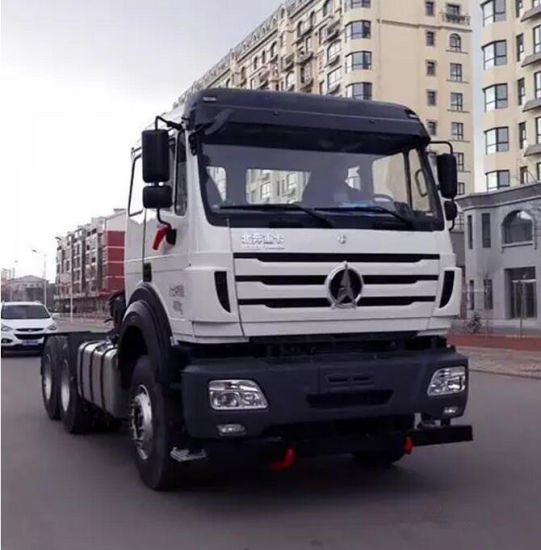 North Benz Ng80 6X6 Trailer Truck 450 HP Engine pictures & photos