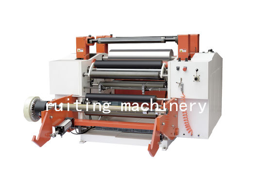 Pmfq-600 Auto Surface Film Paper Straw Roll Slitting and Rewiding Machine