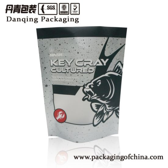 Danqing Custom Aluminum Foil Plastic Doypack Pouch Standing Zipper Packaging Bags Y1710 pictures & photos