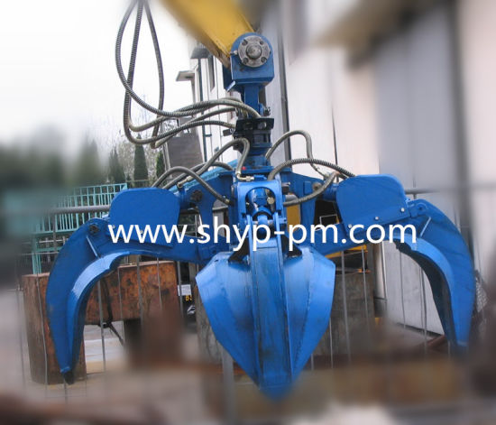 Hydraulic Orange Peel Bucket pictures & photos