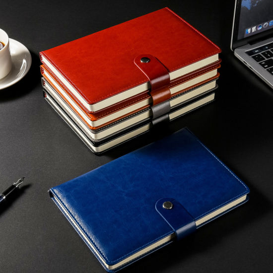 China A5 Size Pu Leather Travelers Notebook With Magnetic Buckle