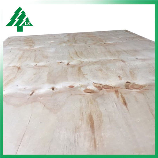 CC/DD Grade 12mm/15mm/18mm Laminated Pine Plywood Sheets for  Construction/Furniture