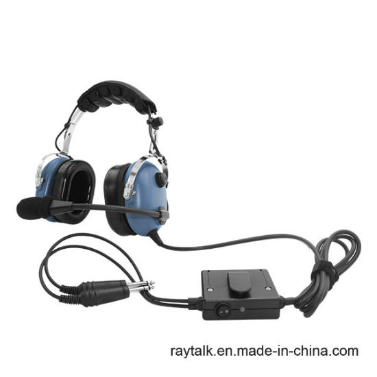 90762215cbd Raytalk Anr Aviation Headset Ran-1000AC with Boom Micphone pictures   photos
