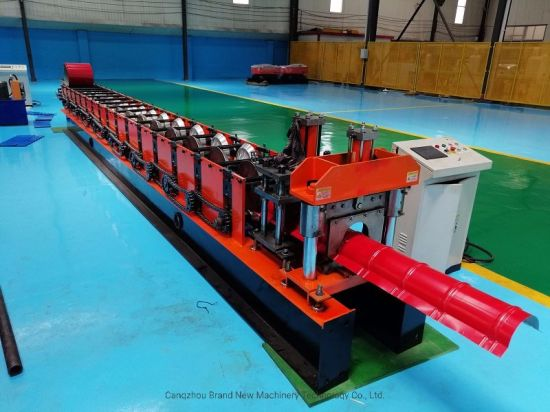 Top Sale High Quality Metal Roof Ridge Cap Roll Forming Machine