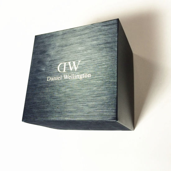 Paper Watch Box with Interior Pillow for Gifts and Promotion
