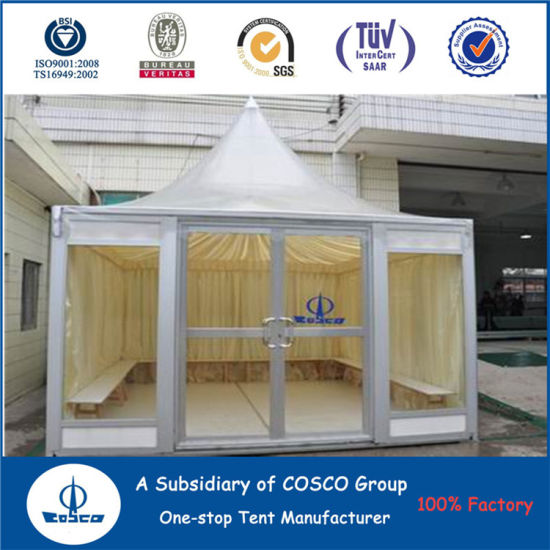 Cosco Aluminum Pagoda Outdoor Wedding Tent pictures & photos