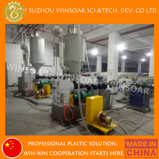 High Efficiency Plastic Pipe Production Line/ PP Pipe Making Machine/ Plastic Pipe Extrusion Line