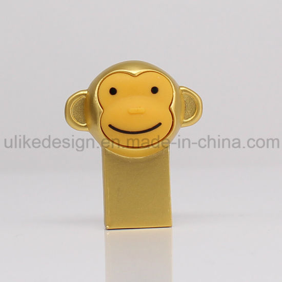 Gold Monkey Style USB Flash Drive (UL-M019) pictures & photos
