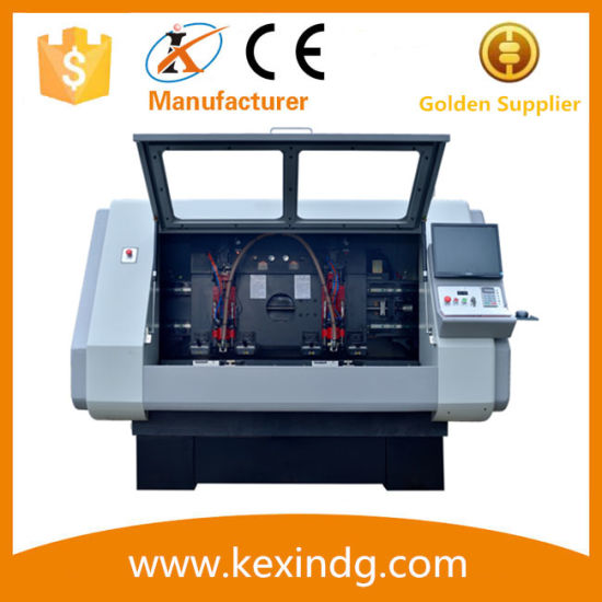 CNC PCB Routing and Drilling Machine with Two Spindles pictures & photos