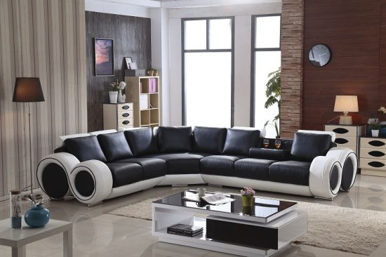 Hot Ing Modern Living Room U Shaped Leather Sofa Hcc138