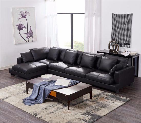 Fashion Modern Genuine Leather Sofa