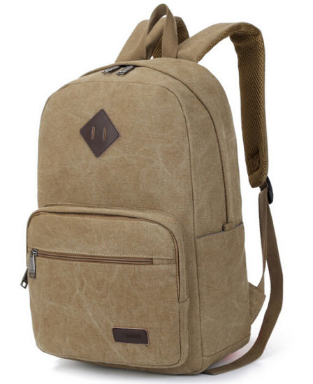 New Products Fashion Canvas Backpack Bag pictures & photos