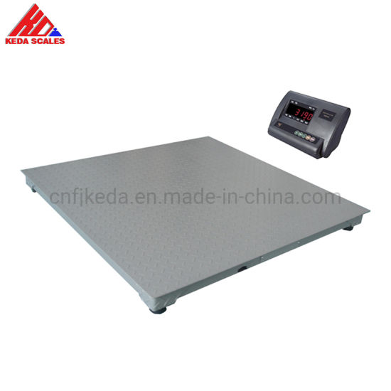 Electronic Weighing Scale China 2000kg Heavy Duty Platform Floor Scale
