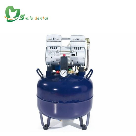 840W Silent Oilless Air Compressor for 2 Dental Units pictures & photos