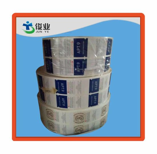 China Printing Factory Paper Roll Sticker pictures & photos