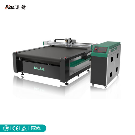 Factory Price Automatic CNC Knife Rubber/PTFE Gasket Composite Cutting Plotter Machine with Oscillation Knife
