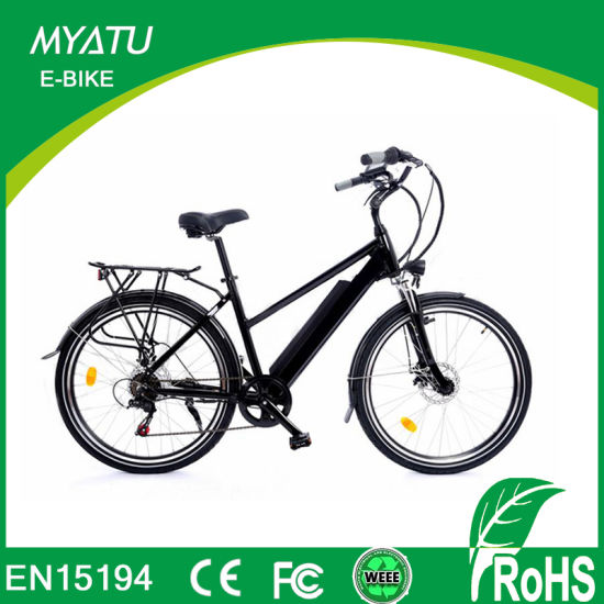 27.5 Inch Eco-Friendly Electric Pedal Assistant City E-Bikes