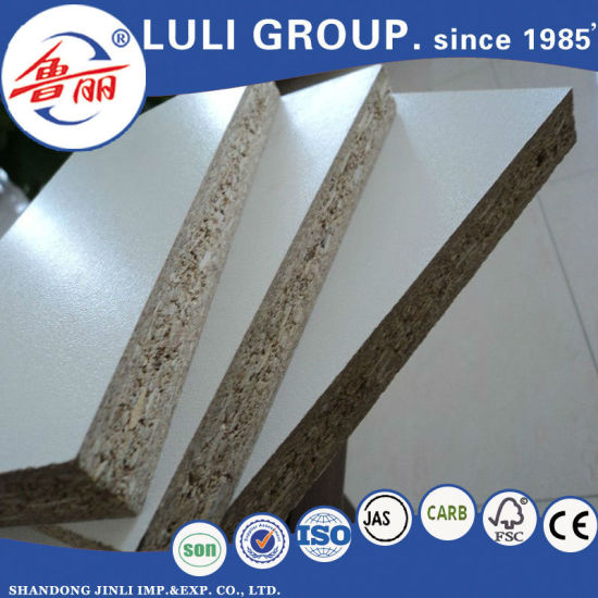 Melamine Face Particle Board/Chipboard with Fsc Certificate From Luli Group pictures & photos