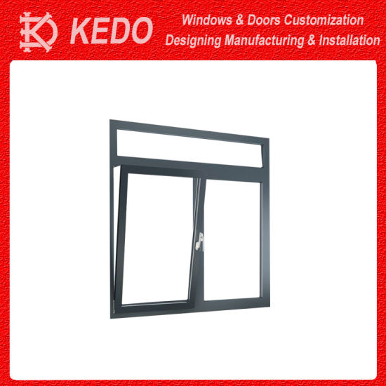 Double Glazing Casement Opened Doors Aluminum Alloy pictures & photos