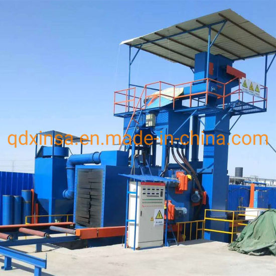 Q69 Series Pass Through Sand Blasting Cleaning Equipment/Shot Blasting Machine