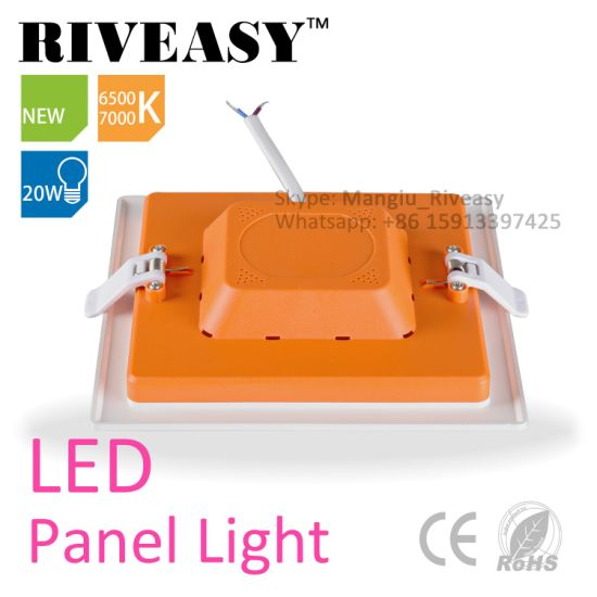 3-20W Square Acrylic LED Panel Light for Indoor Lamp pictures & photos