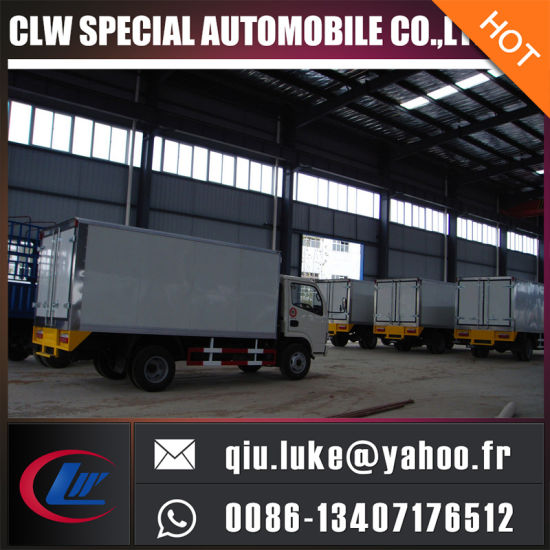 2016 Latest Euro 3/4 Emission Standard Refrigerator Truck 4X2 Forland/Dongfeng Refrigerator Truck with Manual Transmission for Sale pictures & photos