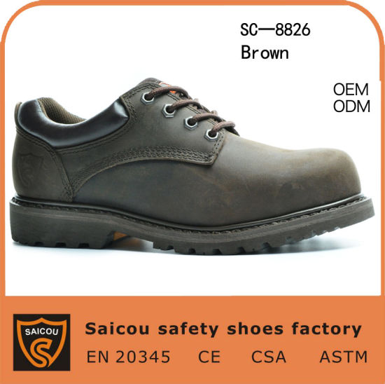 Steel Toe Goodyear Safety Shoes with Ce Certificate (SC-8826)