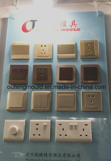 Plastic Mold Wall Switch High Quality Mold Product New Design
