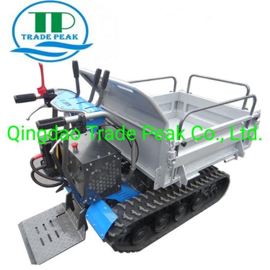 All Terrain Electric Mini Dumper Qtp500e for Farming