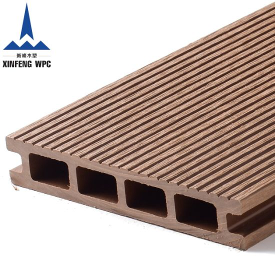 Maintenance Free Weather Resistant WPC Decking with EU Certificates