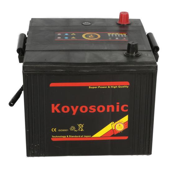 Customzied Maintenance Free 6tn Battery 12V 100ah Auto Tank Battery 6tn