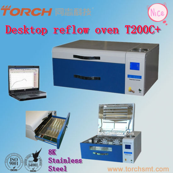 Desktop Solder Paste Reflow Oven with Inline Tempreture Testing pictures & photos