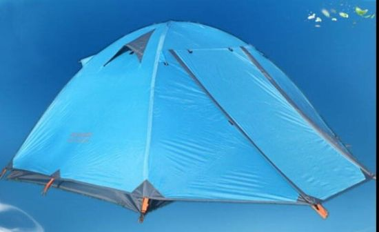Double Layer Professional Outdoor Camping Tent 2-3 Persons Tent pictures & photos