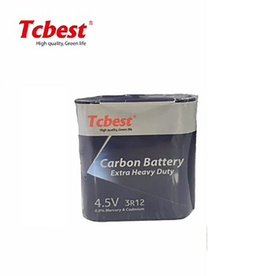 Super Heavy Duty 3r12 4.5V 150mins Battery High Quality OEM Non-Rechargeable Battery