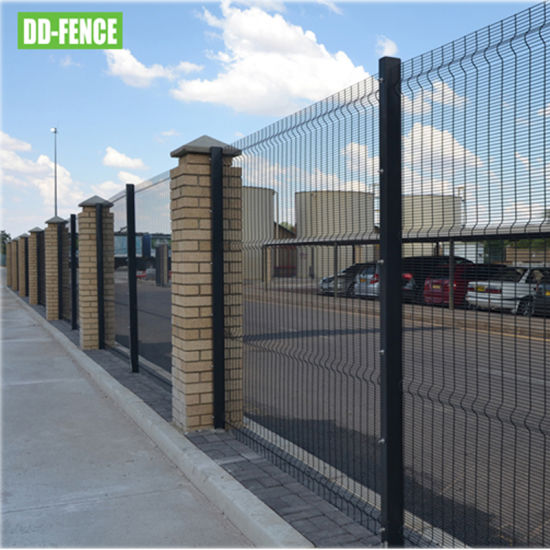Best Quality 358 High Security Anti Climb Prison Fence and Gate System for Car Parking Boundary Security