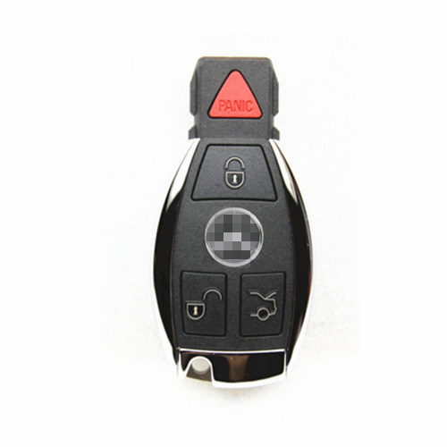 Key Fob Normal Key Replacement for Mercedes-Benz, Frequency 315/433MHz