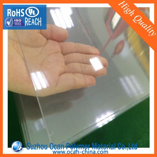 China Clear 1mm Thick Bending Plastic Pvc Sheet Rigid Transparent Pvc Sheet For Bending China Clear Pvc Sheet Transparent Pvc Sheet