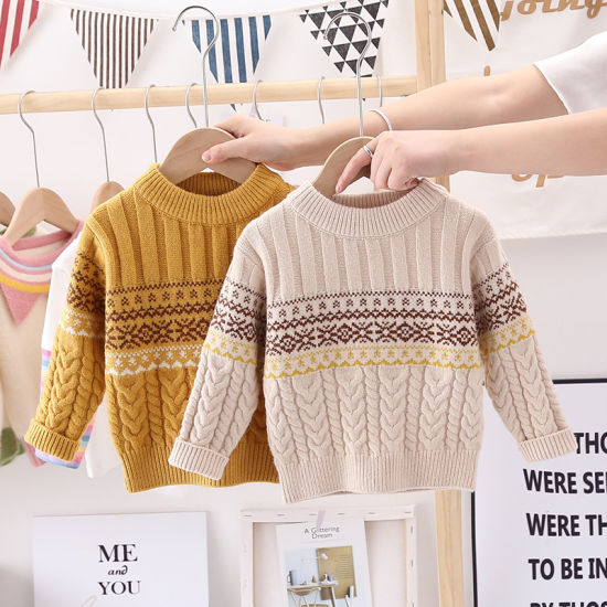 Baby Winter Fashion Clothes Warm Knitwear Pullover Christmas Casual Sweaters