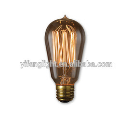 Fashion Lighting 60-Watt Base (E-26) Amber Decorative Incandescent Light Bulb pictures & photos