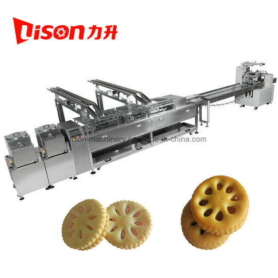 Automatic Two Lane Sandwich Machine with Packaging Machine